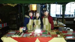 Our stall at the Christmas Lighting Event
