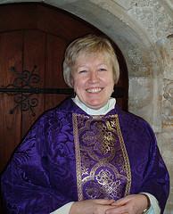 Rev'd Canon Jenny Wigley - Rector